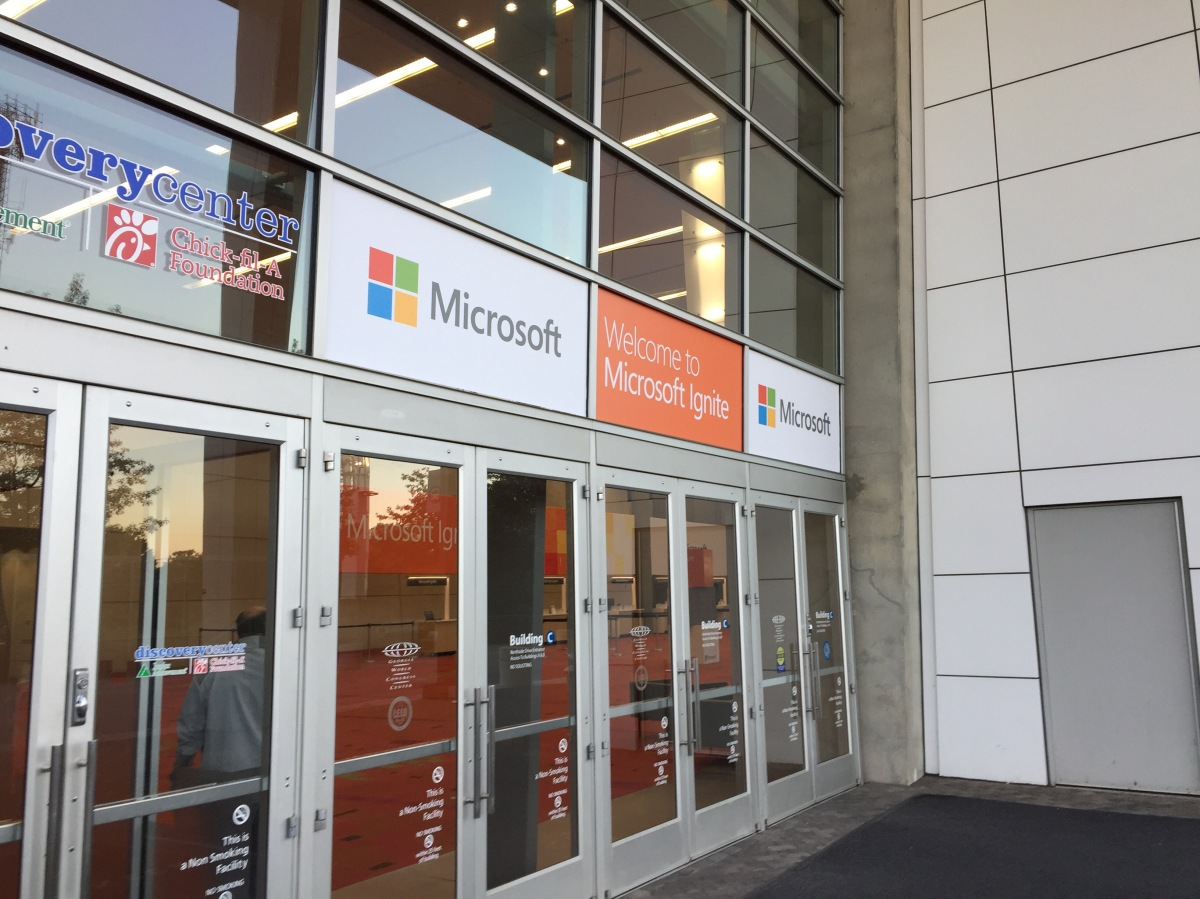 MS Ignite 2016 Day 4